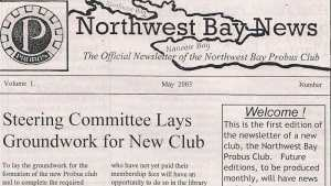 NWB Newsletter 2003