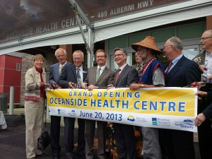 Oceanside Health Centre Opening