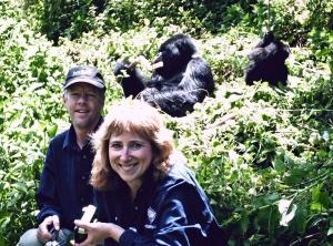 Randy Borger, Judy Miller & Gorillas in Rwanda