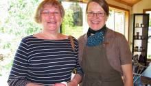 Anne Ward (organizer) & Margit