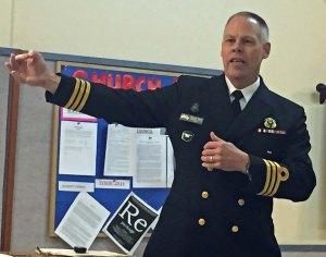 Commander Darren Rich, CFMETR