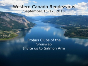 Western Canada Rendezvous